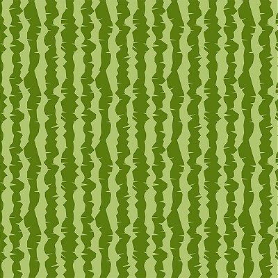 Tecido Tricoline Casca de Melancia - Coleção Melan & Cia - Preço de 50 cm x 150 cm