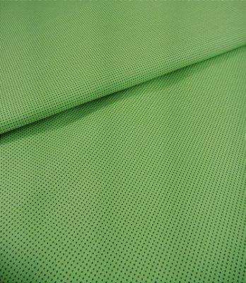 Tecido Tricoline Micro Quadriculado - Fundo Verde - Preço de 50 cm X 150 cm