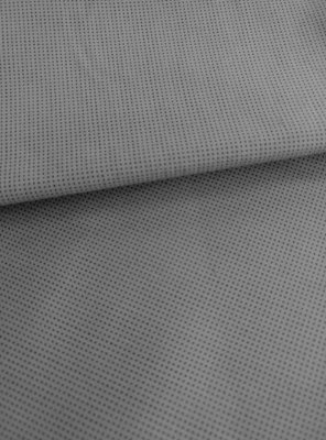 Tecido Tricoline Micro Quadriculado - Fundo Cinza Chumbo - Preço de 50 cm X 150 cm