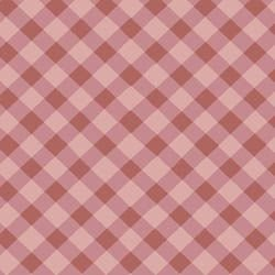 Tecido Tricoline Xadrez Rosa Médio - Coleção Millyta - La Vie En Rose - Preço de 50 cm X 150 cm