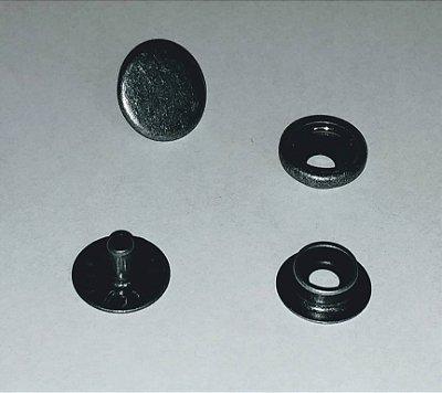 Botão de Pressão Eberle 7.130.80.6.F - Chumbo - Valor de 10 unidades