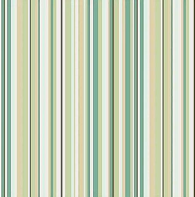 Tecido Tricoline de Listras Florinda Verde - Coleção Dona Florinda - Preço de 50 cm x 140 cm
