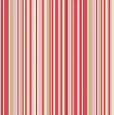 Tecido Tricoline de Listras Florinda Rosa - Coleção Dona Florinda - Preço de 50 cm x 140 cm