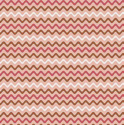 Tecido Tricoline de Sianinha Rosa - Coleção Fashion - Preço de 50 cm x 140 cm