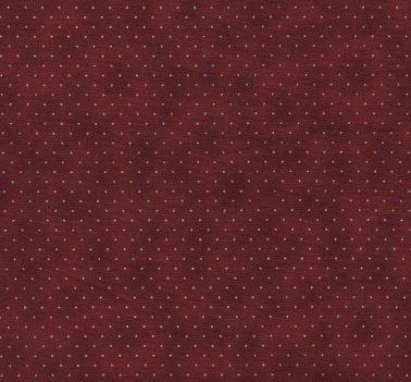 Tecido Tricoline Poeirinha e Poá Bege - Fundo Bordô - Preço de 50 cm X 150 cm