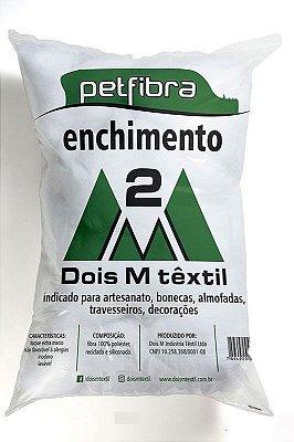 Fibra Virgem Siliconada ou Enchimento - Preço de Pacote de 500 gramas