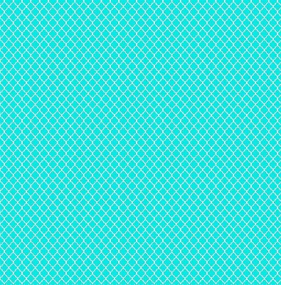 Tecido Tricoline Mini Vitral Treliça - Tiffany - Preço de 50 cm x 150 cm