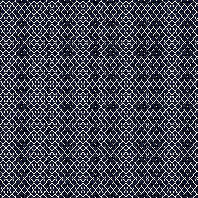 Tecido Tricoline Mini Vitral Treliça - Azul Marinho - Preço de 50 cm x 150 cm