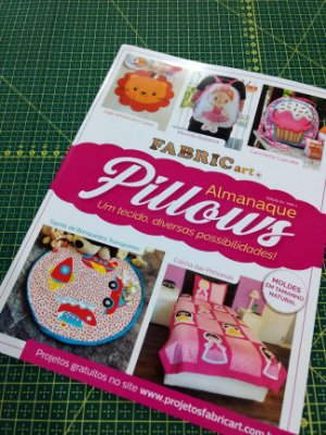 Revista Almanaque Pillows - Fabricart