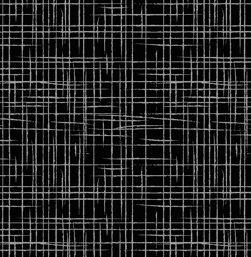 Tecido Tricoline Textura Riscada - Fundo Preto - Preço de 45 cm x 150 cm