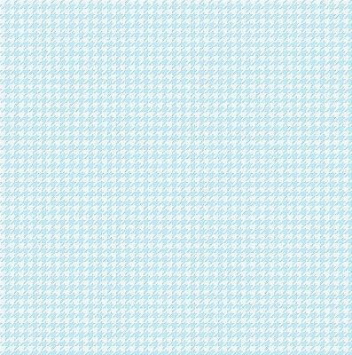 Tecido Tricoline Micro Pied De Poule Azul Claro - Preço de 50 cm x 150cm