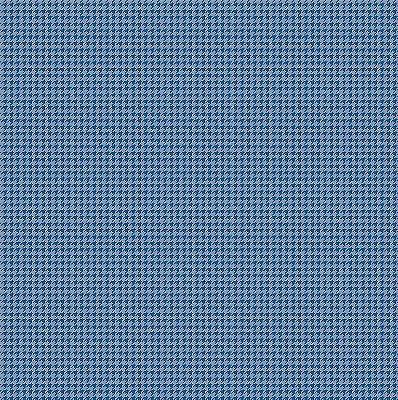 Tecido Tricoline Micro Pied De Poule Azul Noturno - Preço de 50 cm x 150cm