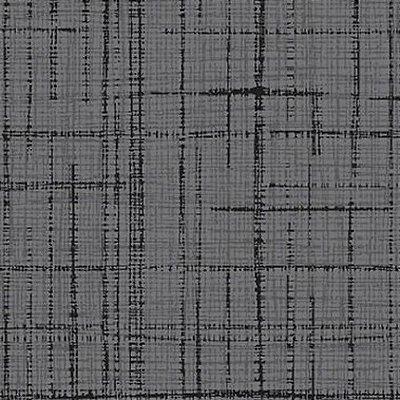 Tecido Tricoline Textura Riscada Cinza Escuro- Coleção Neutro Tom Tom - Preço de 50 cm x 150 cm