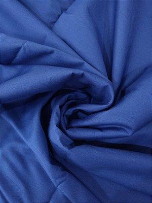 Tecido Tricoline Lisa Azul Marinho - Preço de  50 cm x 150 cm