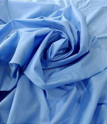 Tecido Tricoline Lisa Azul Claro Serenity - Preço de  50 cm x 150 cm