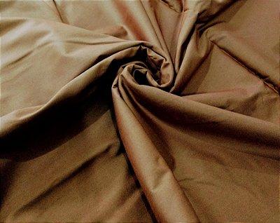 Tecido Tricoline Lisa Marrom - Preço de  50 cm x 150 cm