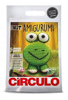 Kit Amigurumi - Coleção Bichinhos - Sapo