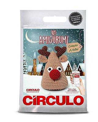 Kit Amigurumi - Coleção Natal - Rena
