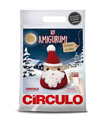 Kit Amigurumi - Coleção Natal - Papai Noel