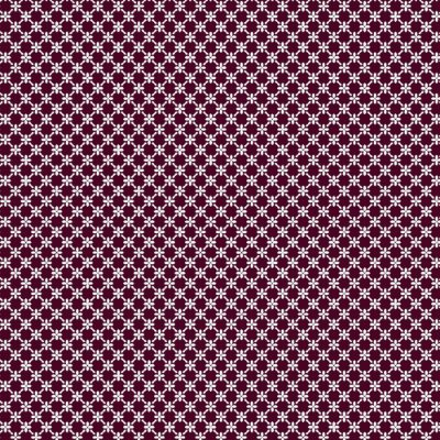 Tecido Tricoline Cerca de Flores - Fundo Vinho - Coleção 1 - Preço de 50 cm x 150 cm