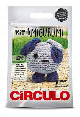 Kit Amigurumi - Coleção Bichinhos - Cachorro