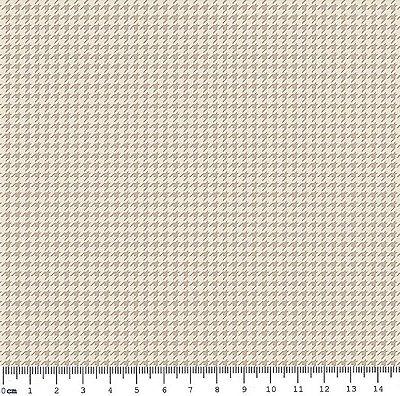 Tecido Tricoline Micro Pied De Poule Cinza - Coleção 2 - Preço de 50cm x 150cm
