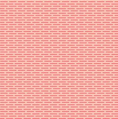 Tecido Tricoline Tijolinhos - Fundo Rosa - Preço de 50cm x 150cm