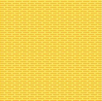 Tecido Tricoline Tijolinhos - Fundo Amarelo - Preço de 50cm x 150cm
