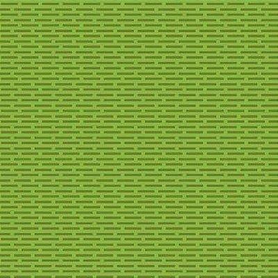Tecido Tricoline Tijolinhos - Fundo Verde Limão - Preço de 50cm x 150cm