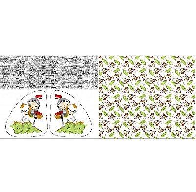 Tecido Tricoline Almofada - São Jorge - Preço de 60 cm x 150 cm