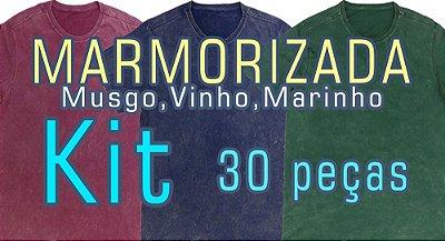 KIT 30pçs(Tingidas a seco e Marmorizado Musgo, Vinho e Marinho ferrugem). Você escolhe as cores, modelos e tamanhos. Usar cupom (5000) para valor no atacado de R$ 17,90 a unidade por Depósito.