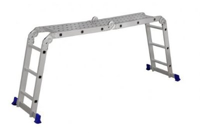 Escada Multifuncional C/ Plataforma 4 X 3 Degr (Mor)