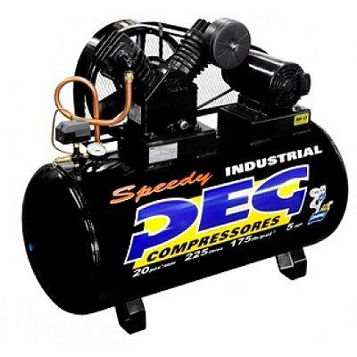 Compressor De Ar 20 Pés 225 L Trifásico Alta Pressão Peg