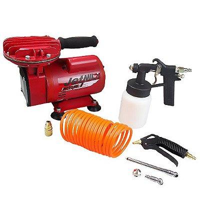 Compressor De Ar Direto Jetmil Com Kit Bivolt Motomil