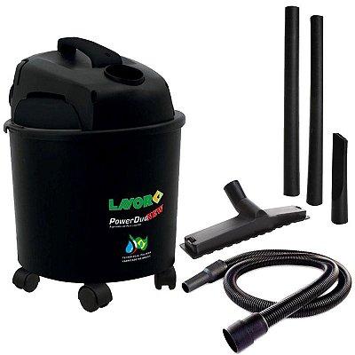 Aspirador de Pó e Água 14 Litros 1250w Power Duo 127v Lavor