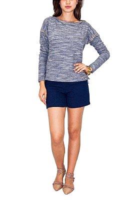 MAMÔ blusa tweed