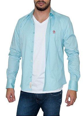 PENGUIN camisa azul claro