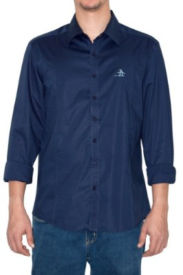 PENGUIN camisa marinho