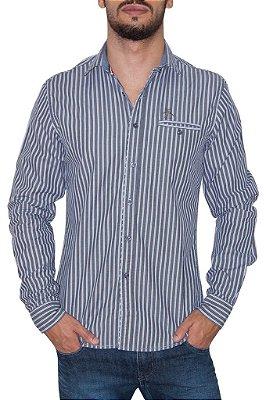 PENGUIN camisa social cinza