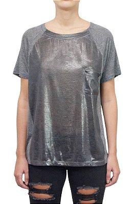 OPERA ROCK camiseta com detalhe foil