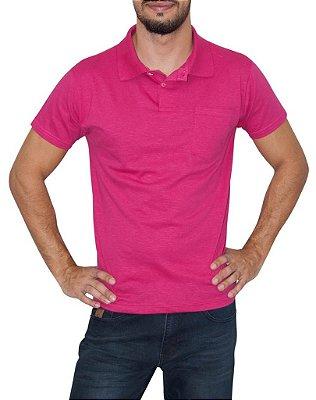 BALOBALAIO polo lisa pink