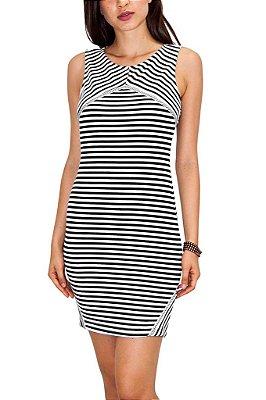 MAMÔ vestido stripes