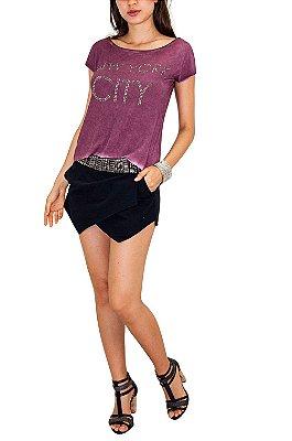 NINA ROSA camiseta nyc