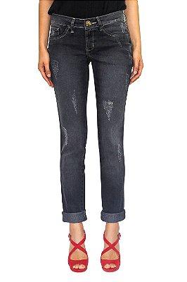 DENUNCIA calça jeans escura