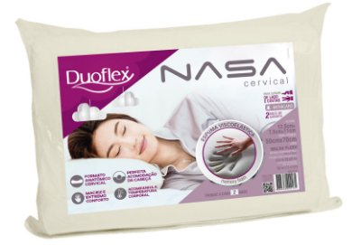 Travesseiro Nasa Cervical 50x70cm - Duoflex