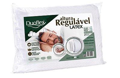 Travesseiro Látex Altura Regulável 50x70cm - Duoflex