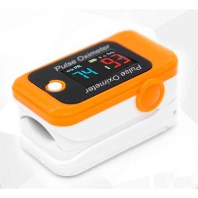 Oxímetro de pulso Adulto portátil de dedo laranja