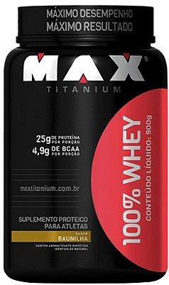 100% WHEY PROTEIN (900g) - MAX TITANIUM