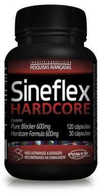 SINEFLEX HARDCORE (150caps) - POWER