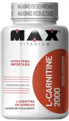 L CARNITINA (120caps) - MAX TITANIUM